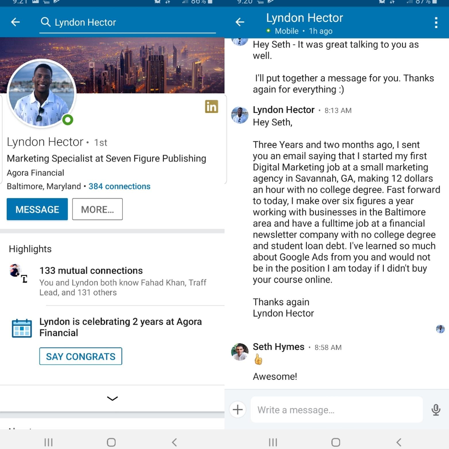 2 - Lyndon Interview